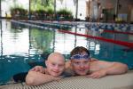 BS Oberhausen - Behindertensport Oberhausen veranstalten ein Schwimmfest.
