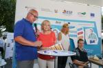 Hannelore Kraft am Stand des Europäischen Sozialfonds auf dem NRW Tag Düsseldorf