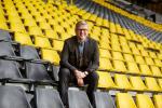 Reinhard Beck, Borussia Dortmund Direktor Personal.Portrait im Fussballstadion Signal Iduna Park