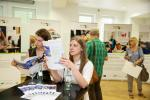 Ausstellungseröffnung Förderbeispiele ESF FörderprogrammeBesucher