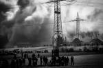 Spengung des Kohlekraftwerk Gustav Knepper.