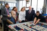 TEP - TeilzeitberufsausbildungKarl Josef Laumann - Minister für Arbeit Gesundheit und Soziales des Landes NRW besucht die Fa. Gustav Herrmann & Sohn GmbH