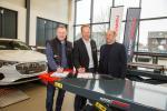 ESF - Projekt Arbeit 2020vl: Andreas Prior - Betriebsratsvorsitzender, Johannes Kjellgren - Geschäftsführer AutopStenhoj, Sebastian Knoth - IG-Metall Rheine