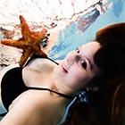 Unterwasser Fotosessions